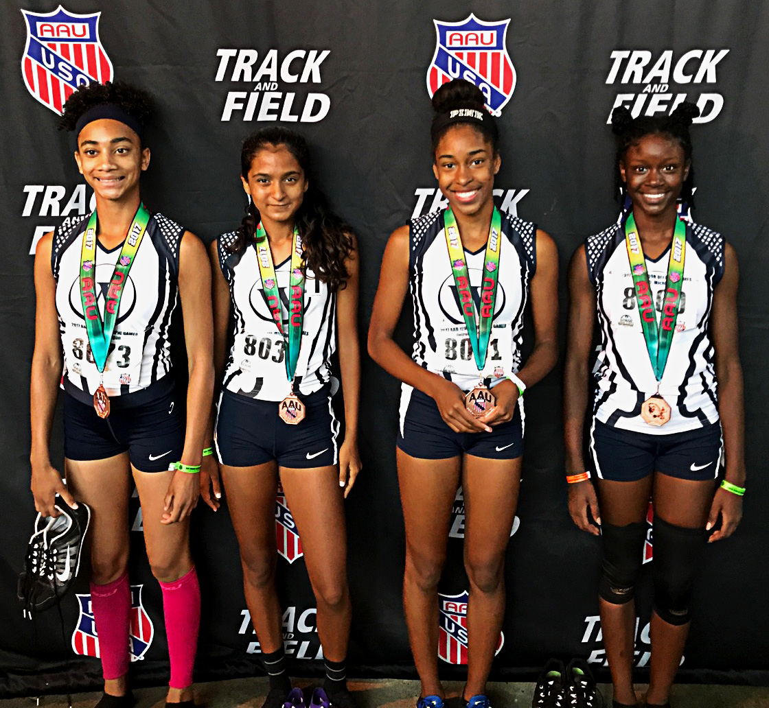 The Wings 13 -14 Youth Girls Finish 7th at 2017 AAU Junior Olympics