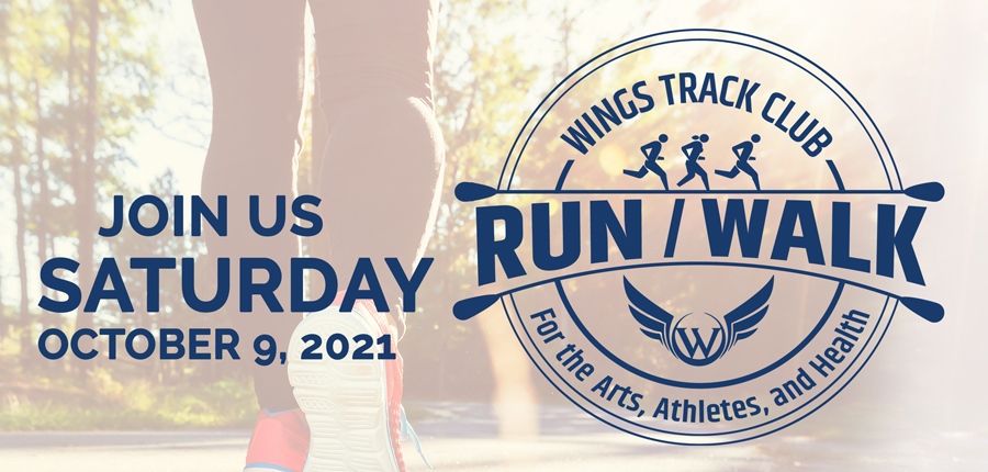 Wings Run & Walk for the Arts, Athletes, and Health
